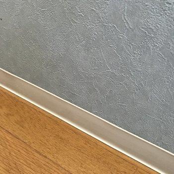 よーく見たらキッチンも天井と同じ色♩