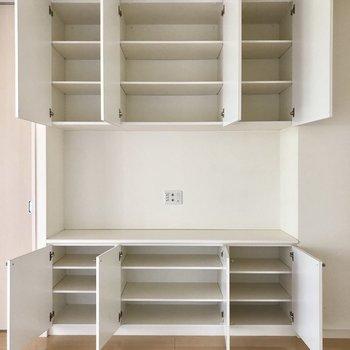 【LD】こんなにも入ります!小物類を。※写真は1階の同間取り別部屋のものです