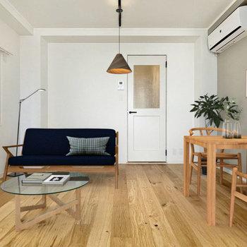 家具イメージ】ソファやダイニングテーブルも置けちゃう広さです!