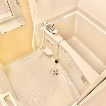 シャワースペースもしっかり確保されていますね。※写真は3階の同間取り別部屋のものです