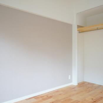 【イメージ】約4.3帖の洋室はオープンタイプのクローゼット