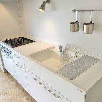 【LDK】シンクも大きいキッチンは料理が捗ります!