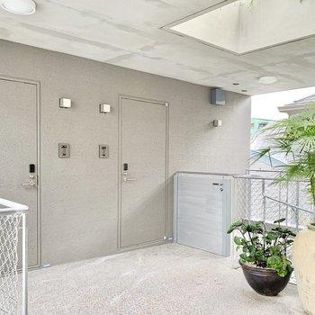 3・4階は入居者のみアクセス可能で安心です。