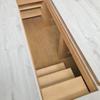 【5階部分】床下収納もありました。