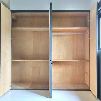 【4階部分】収納もしっかりとあります。ユーティリティスペースとして使えますね。