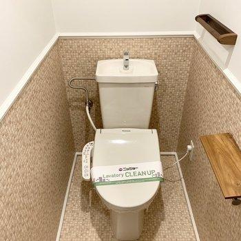 おトイレの内装もこだわりを忘れていませんよ◎