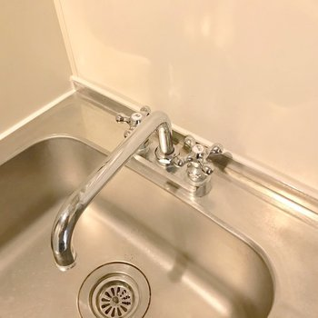 水栓も素敵に変わりました。(※写真は前回施工したお部屋です)