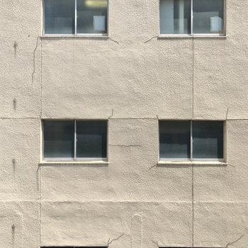 こちらは小窓からの眺望です。