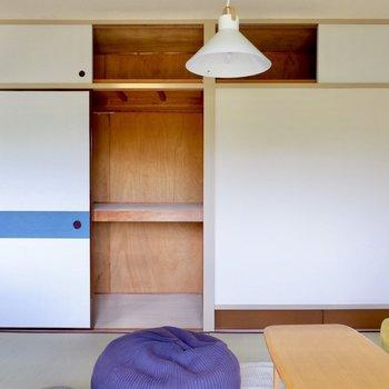 【和室6帖】各お部屋に大容量の収納があるのが和室の魅力の1つです。