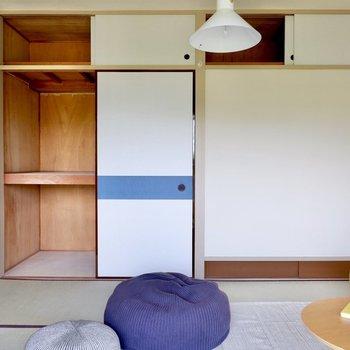 【和室6帖】各お部屋に大容量の収納があるのは和室の特徴です。