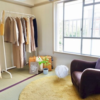 【和室4.5帖】衣装部屋としてもちょうどよい広さです。