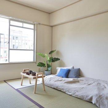 【和室6帖】こちらは寝室として。