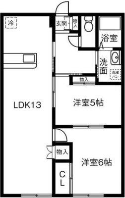 セブンスターマンション第一春日井904号室の間取り