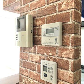 【LDK】TVモニター付のドアホンなどはキッチンの壁に。