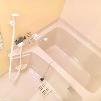 お風呂はシンプル。浴室乾燥機が付いています
