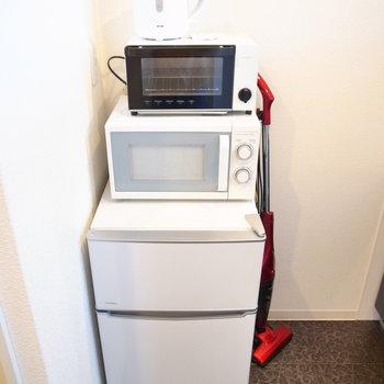 室内にある家電はご利用可能です♪