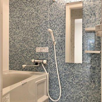 お風呂のデザインに惚れ惚れ……。