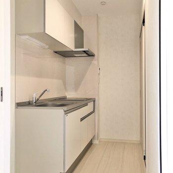 【LDK】ドアを開けてキッチンへ行ってみましょう。