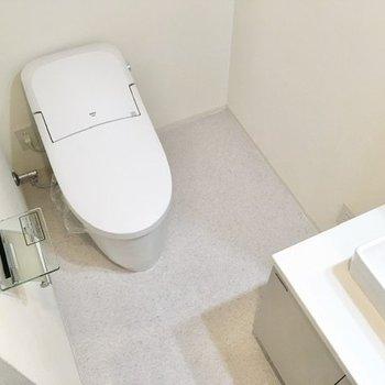 その左隣にトイレが設置されています。