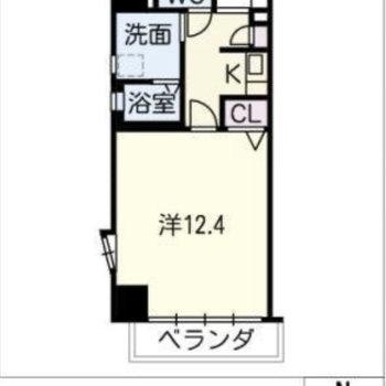 ちょっと余裕のある一人暮らしのお部屋。