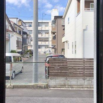 小窓からはこの景色。