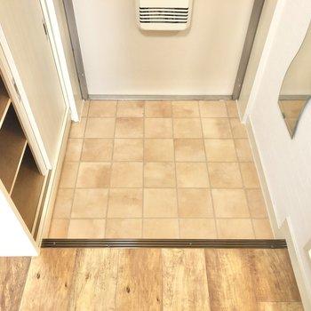 玄関にはスタメンを2組ほど並べて、控えの靴はBOXの中へ。