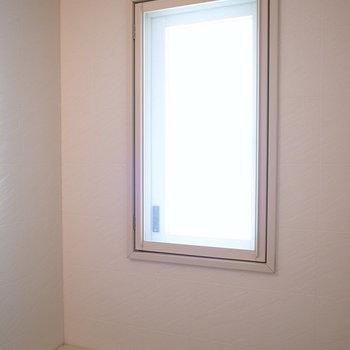 大きめの窓もありますよ。