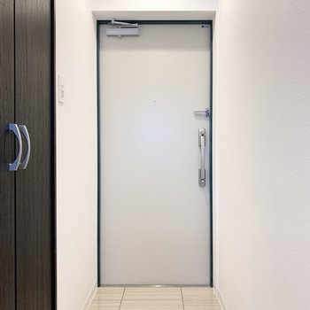 ゆとりのある玄関です。