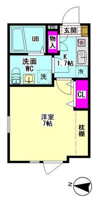 仮)西糀谷4丁目集合住宅新築工事 の間取り