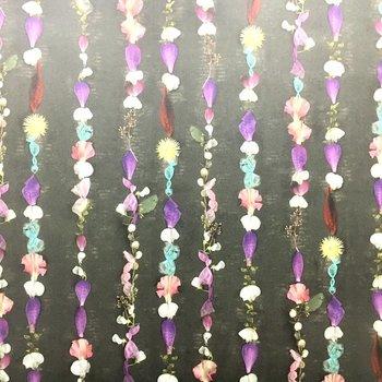 花びらの壁紙が素敵!