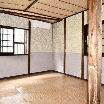 布団を敷いて、ゴロゴロしちゃいたい、昔ながらの和室が心を癒します!
