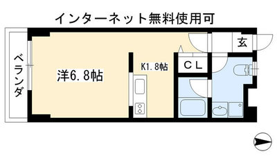 恵比須荘 の間取り