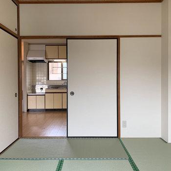 【和室6J】窓側から