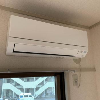 【洋室8J】この部屋にのみエアコンがあります