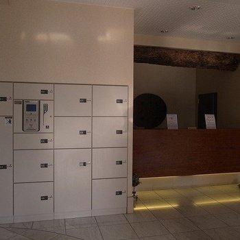 オートロック、宅配ボックスなど設備完璧