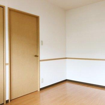 〈洋室②〉お子さんがいるご家族は子供部屋にするのもいいかも。