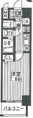 レオンコンフォート神戸西の間取り