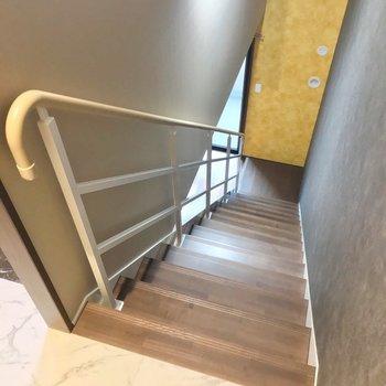 それでは下階へ。