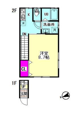 仮)羽田6丁目新築住宅の間取り