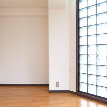 【洋室】ここにもガラスブロック!
