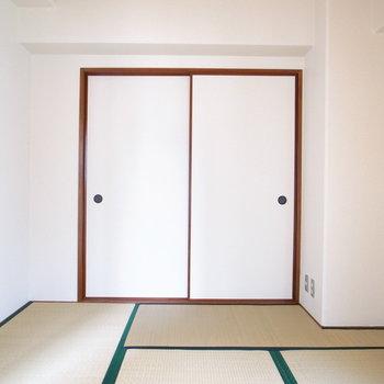 【和室】和室には収納がついていますよ。