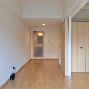 家具の配置がしやすいのが嬉しいですね!(※写真は2階の同間取り別部屋のものです)