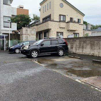 駐車場が完備です。