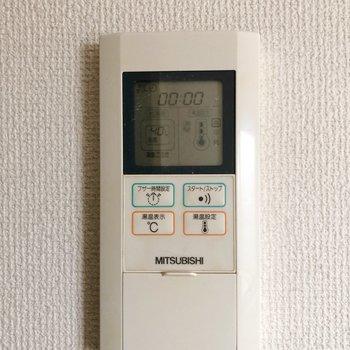 温度調節機能が嬉しい◯(※写真は同じ建物の3階の写真です。)