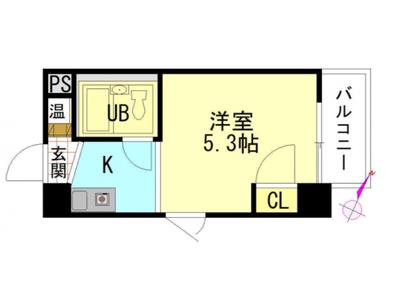 BAUHAUS広島駅前の間取り図