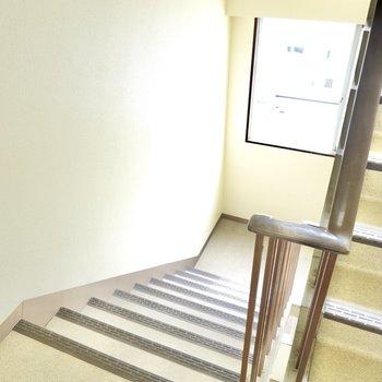 お部屋は5階でエレベーターはありません。日々の上り下りや家具の搬入などは要チェックです。