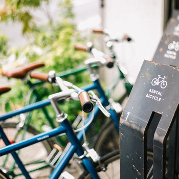 休日にはサイクリングをするのもいいですね。