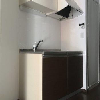 キッチンはこちらです※写真は2階の反転間取り別部屋のものです