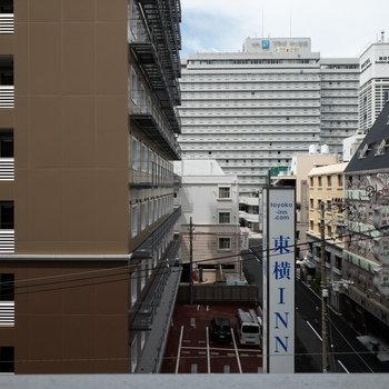 眺望はホテルです。