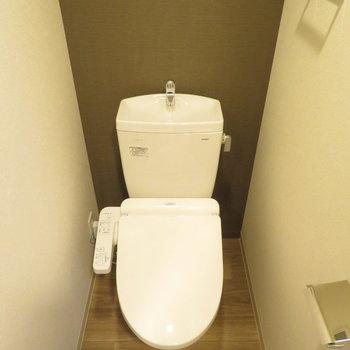 トイレは落ち着く空間に